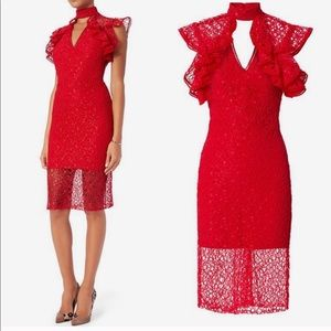Alexis Dress NWT Red Midi Dress